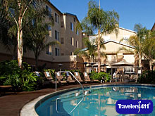 Pool at Homewood Suites San Diego/Del Mar