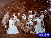 Leslie Family at Castle Leslie in 1905,