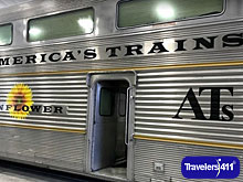 America's Trains - train car.
