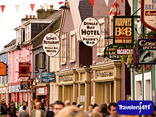 Dingle Town in County Kerry.