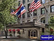 Plaza Athenee Hotel in NYC