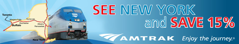 Click to visit www.amtrak.com for more info and to See New York and Save 15 Percent.
