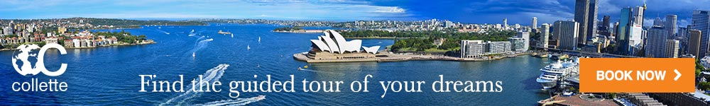 Find the guided tour of your dreams.  Collette.  Book now.  Click here to visit www.gocollette.com