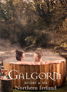 Galgorm Resort and Spa, Northern Ireland, UK.  Click here to visit.
