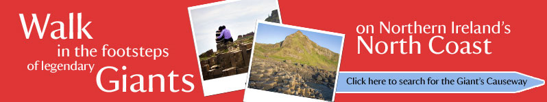 Walk in the footsteps of legendary Giants on Northern Ireland's North Coast.  Click here to visit nationaltrust.org.uk