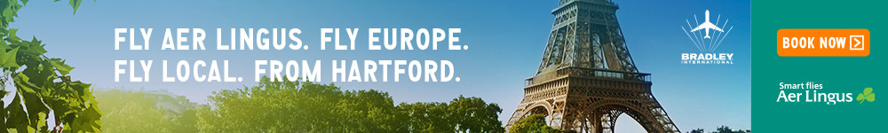 Fly Aer Lingus.  Fly Europe.  Fly Local.  From Hartford.  Smart Flies Aer Lingus.  Book Now.  Click here to visit aerlingus.com