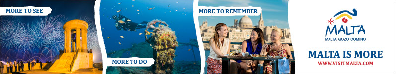 More to see.  More to do.  More to remember.  Malta is more.  Click here to visit www.visitmalta.com