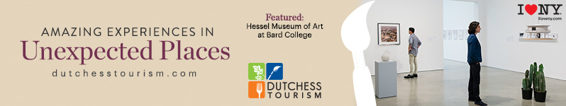 Amazing Experiences in Unexpected Places.  Featured: Hessel Museum of Art at Bard College.  I Love NY.  Click to Visit Dutchess Tourism online at www.dutchesstourism.com