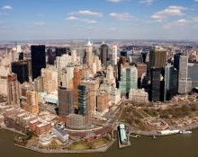 NYC Areal Photo of Lower Manhatten